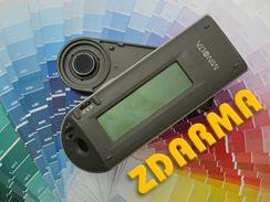 Měření odstínu spektrofotometrem